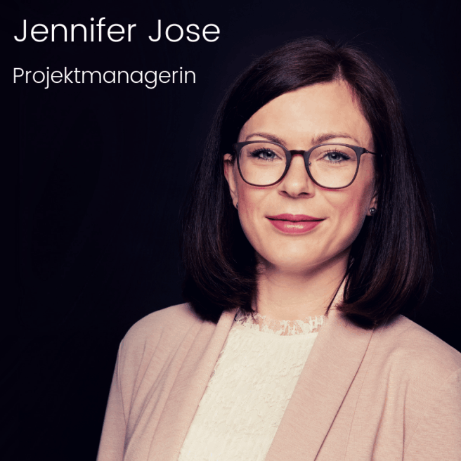 Projektmanagerin Jennifer Jose